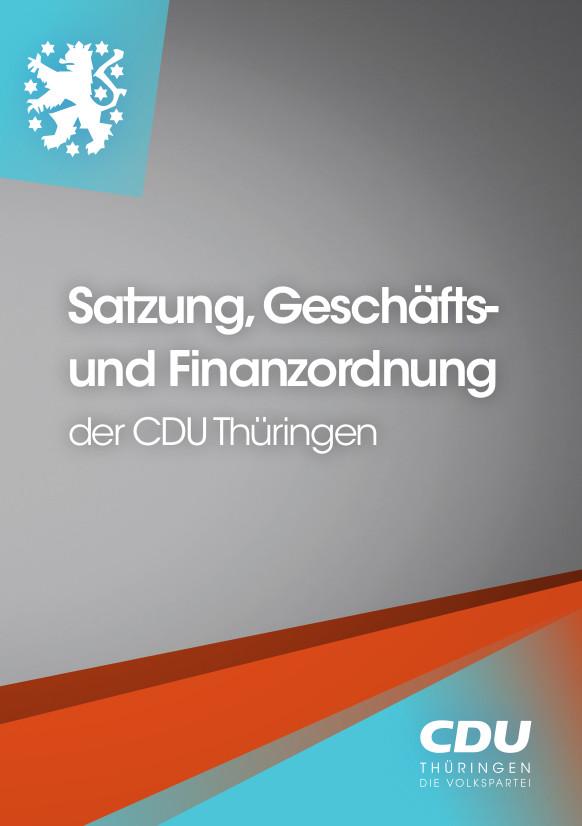 Satzung CDU Thüringen