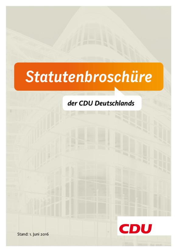 Statutenbroschüre